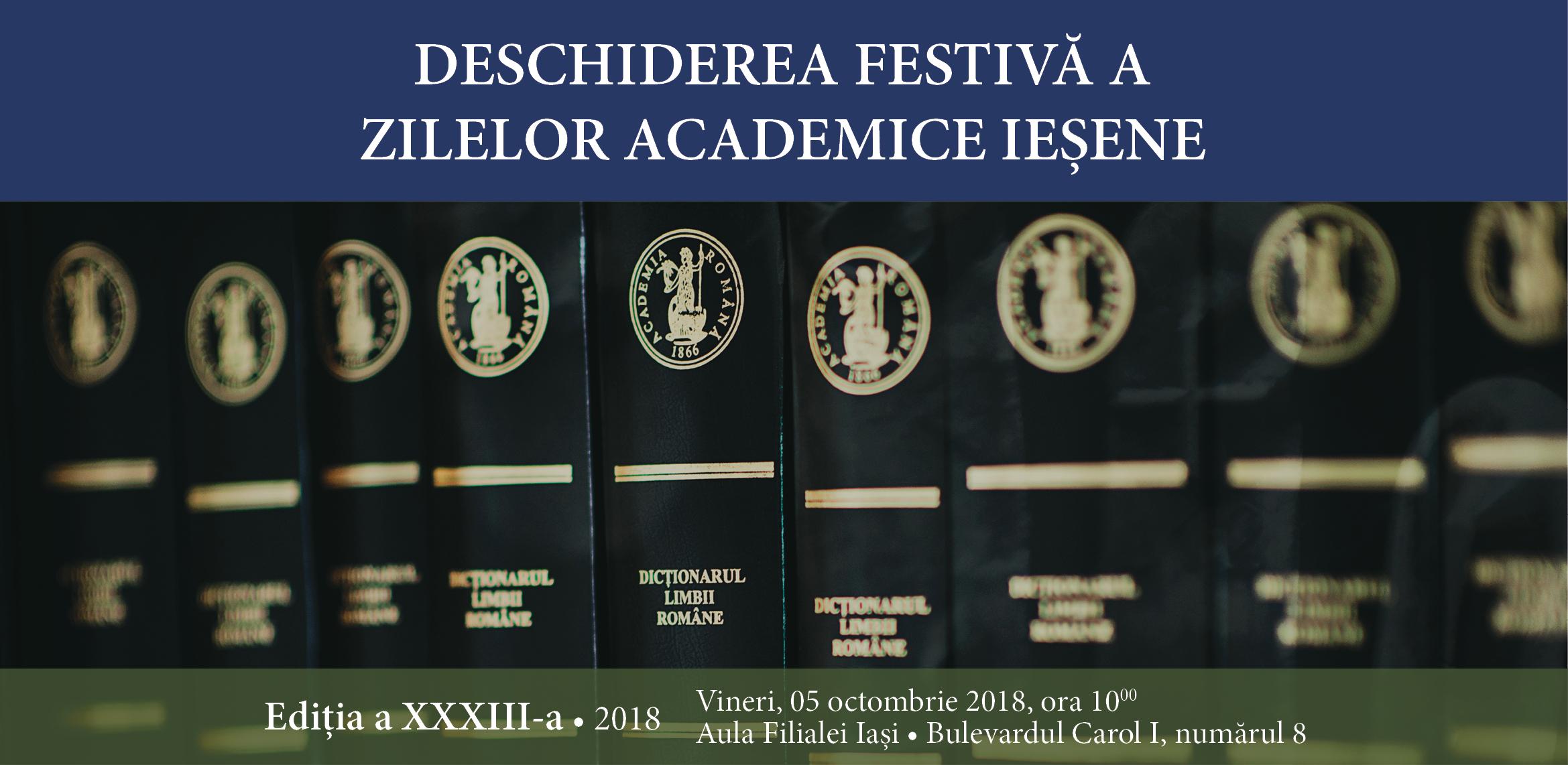 Deschiderea Zilelor Academice Iesene editia 2018