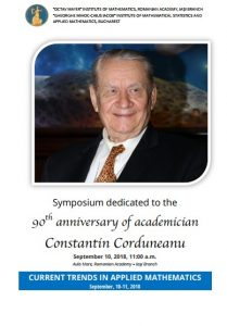 Simpozion Constantin Corduneanu