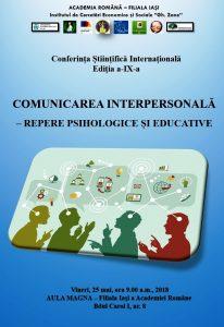 Conferinta Comunicarea Interpersonala