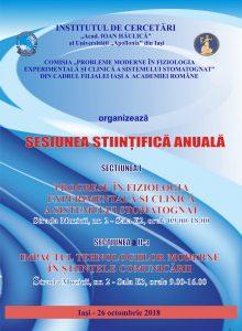 Sesiunea Stiintifica Anuala 2018