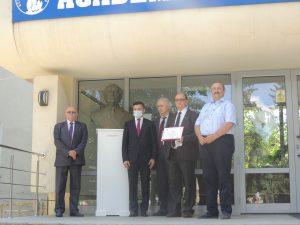 Dezvelirea bustului academicianului Cristofor I. Simionescu